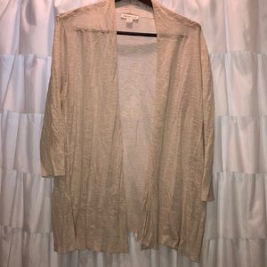 Great Cream cardigan by Coldwater Creek!